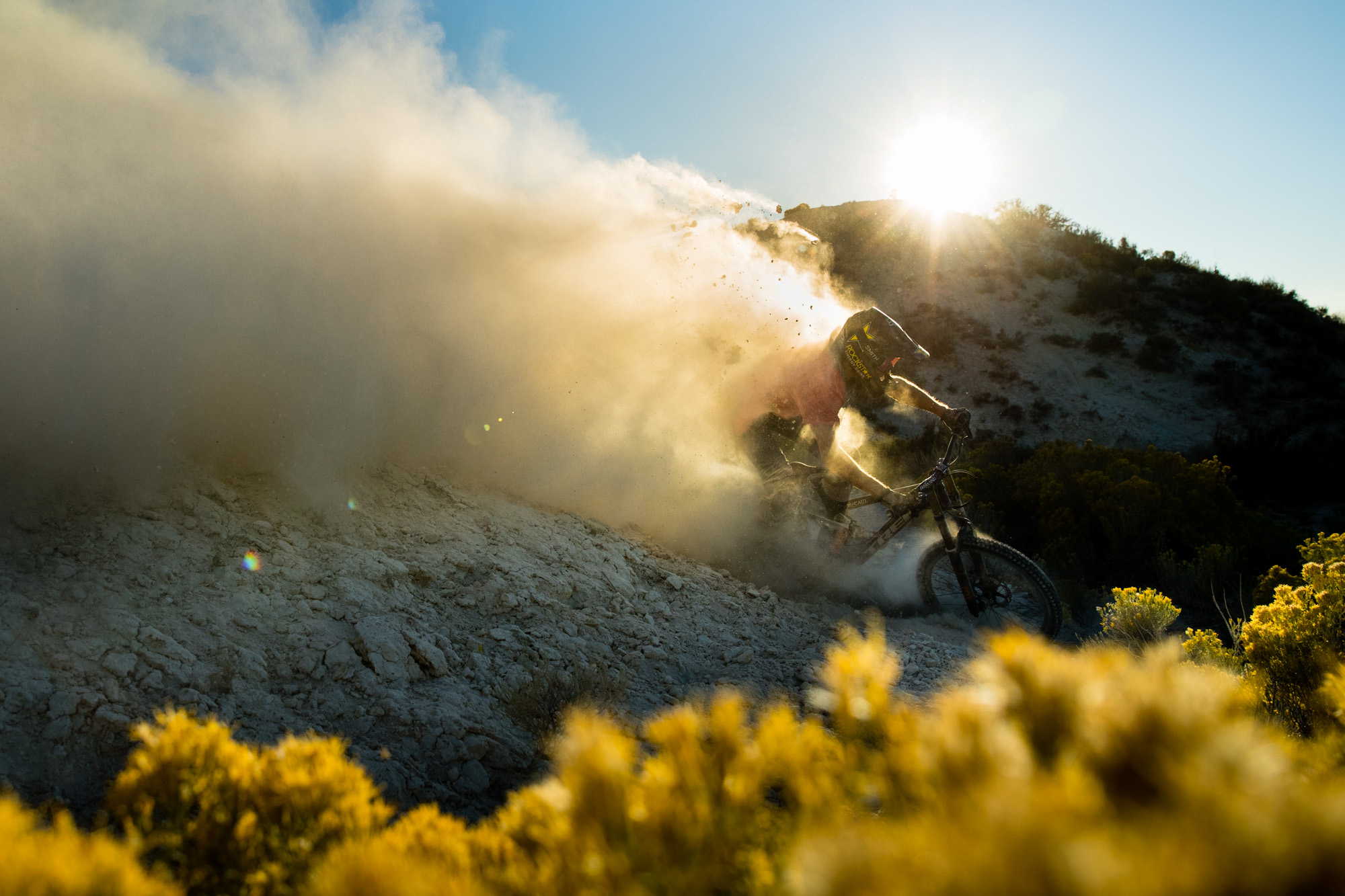 Cam McCaul Downhill Mountain Bike | Sports Photographer