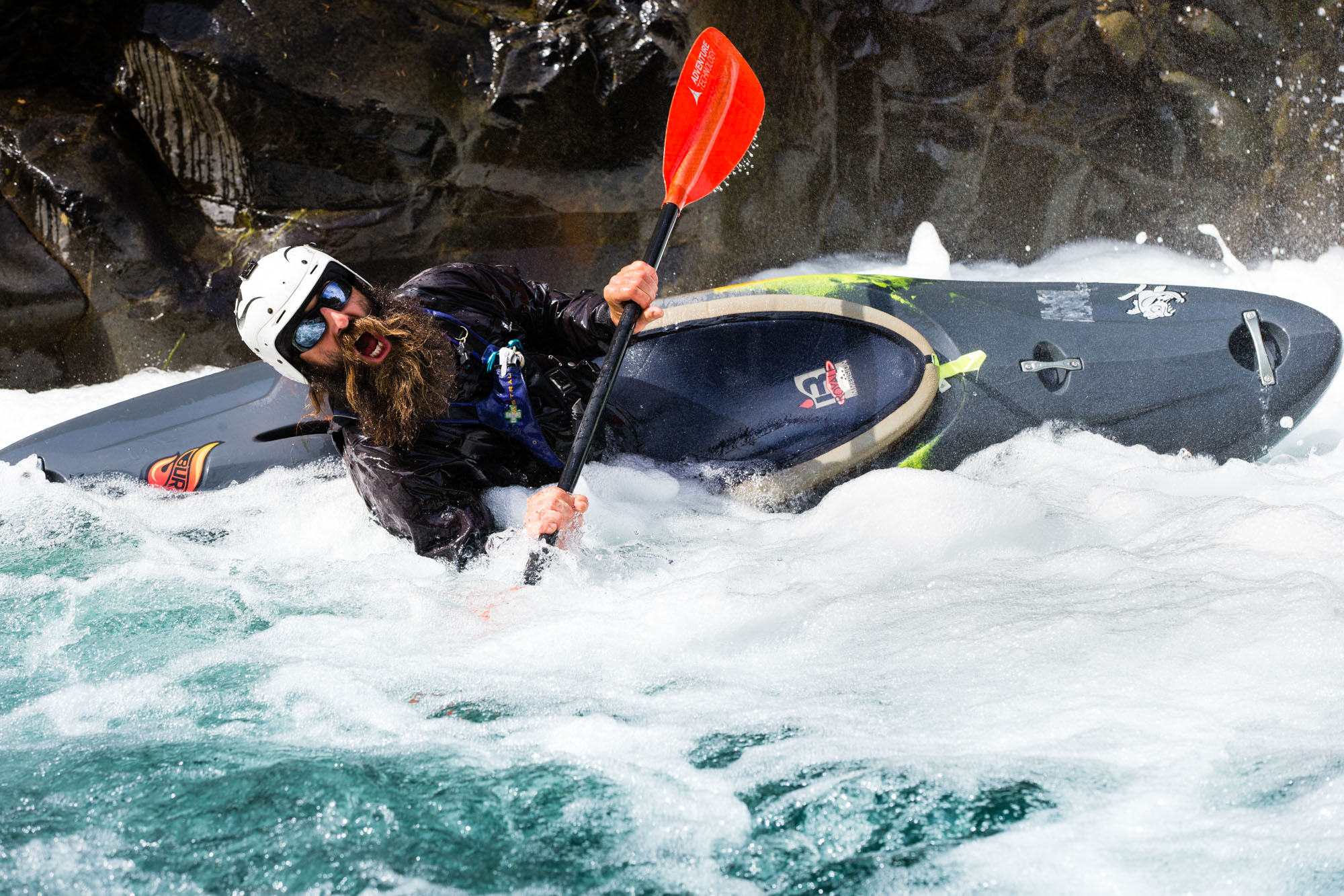 Whitewater Kayak in Pacific Northwest | Water Sports Photography