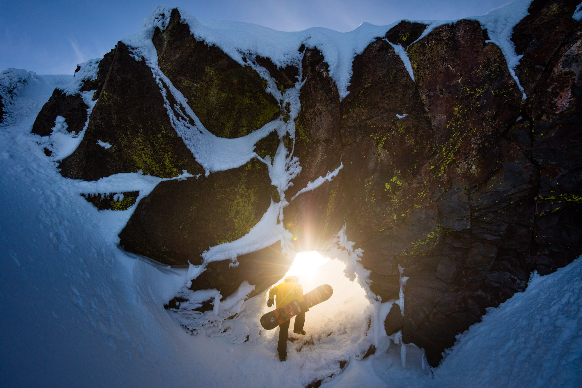 Snowboarder Josh Dirksen | Winter Sports Photography