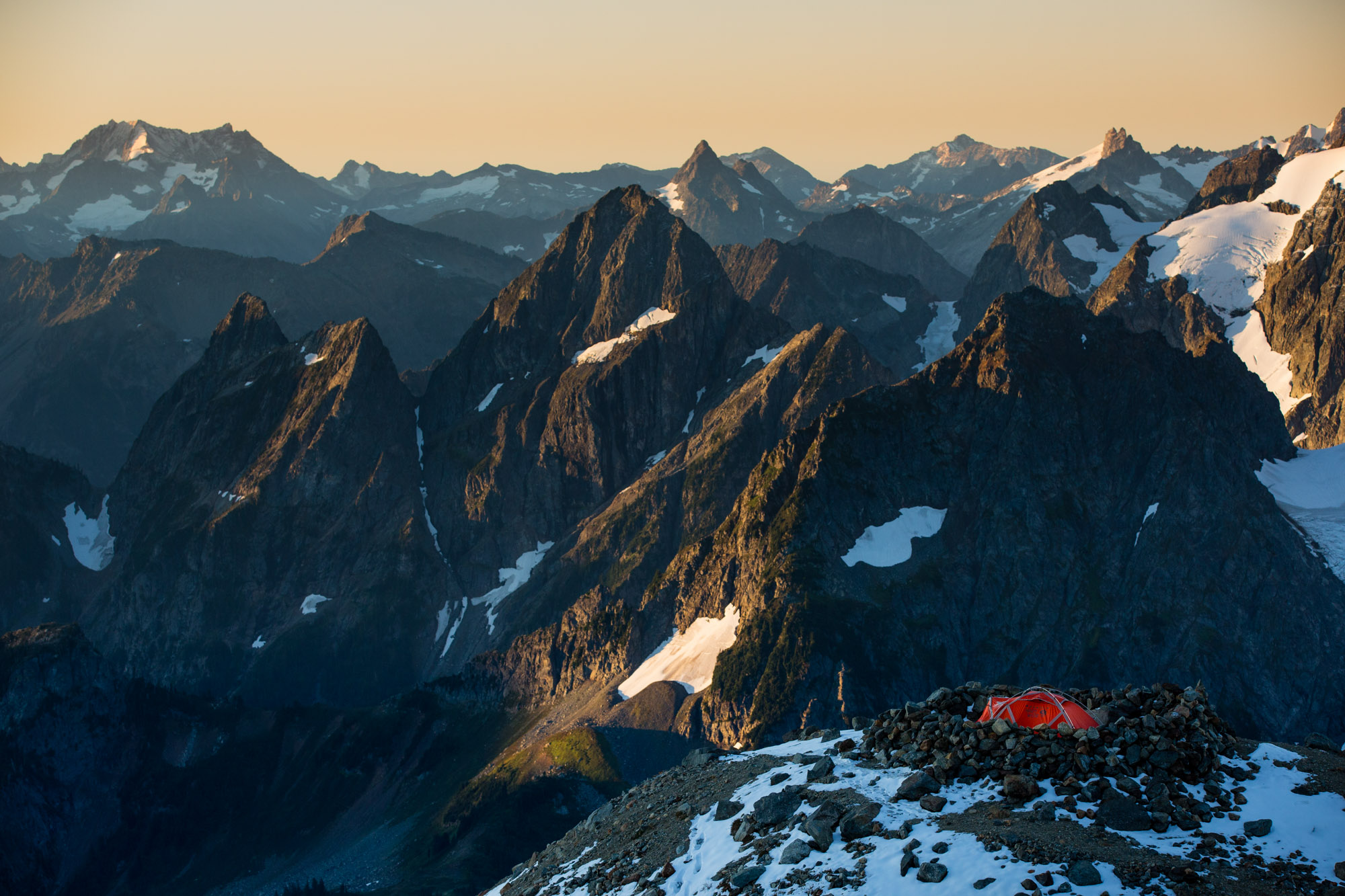 Camping in Mountains | Adventure Travel Photography