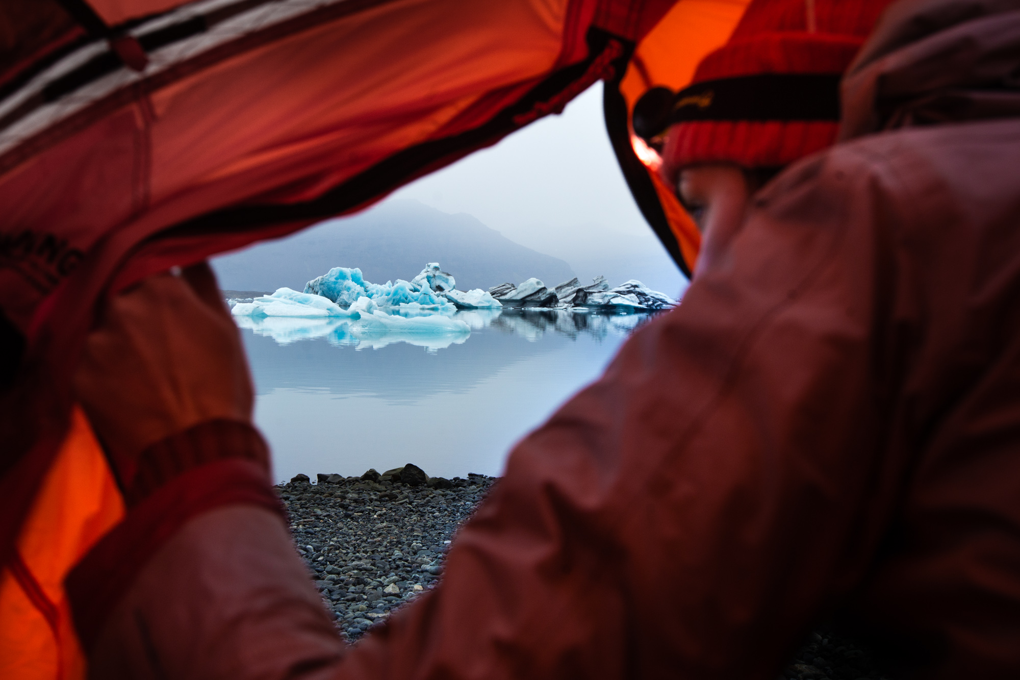 Camping Iceland | Adventure Outdoor Travel Photography