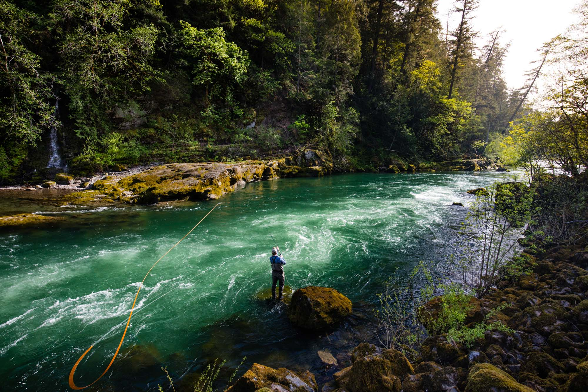 Flyfishing and Active Outdoor Adventure Lifestyle Photography