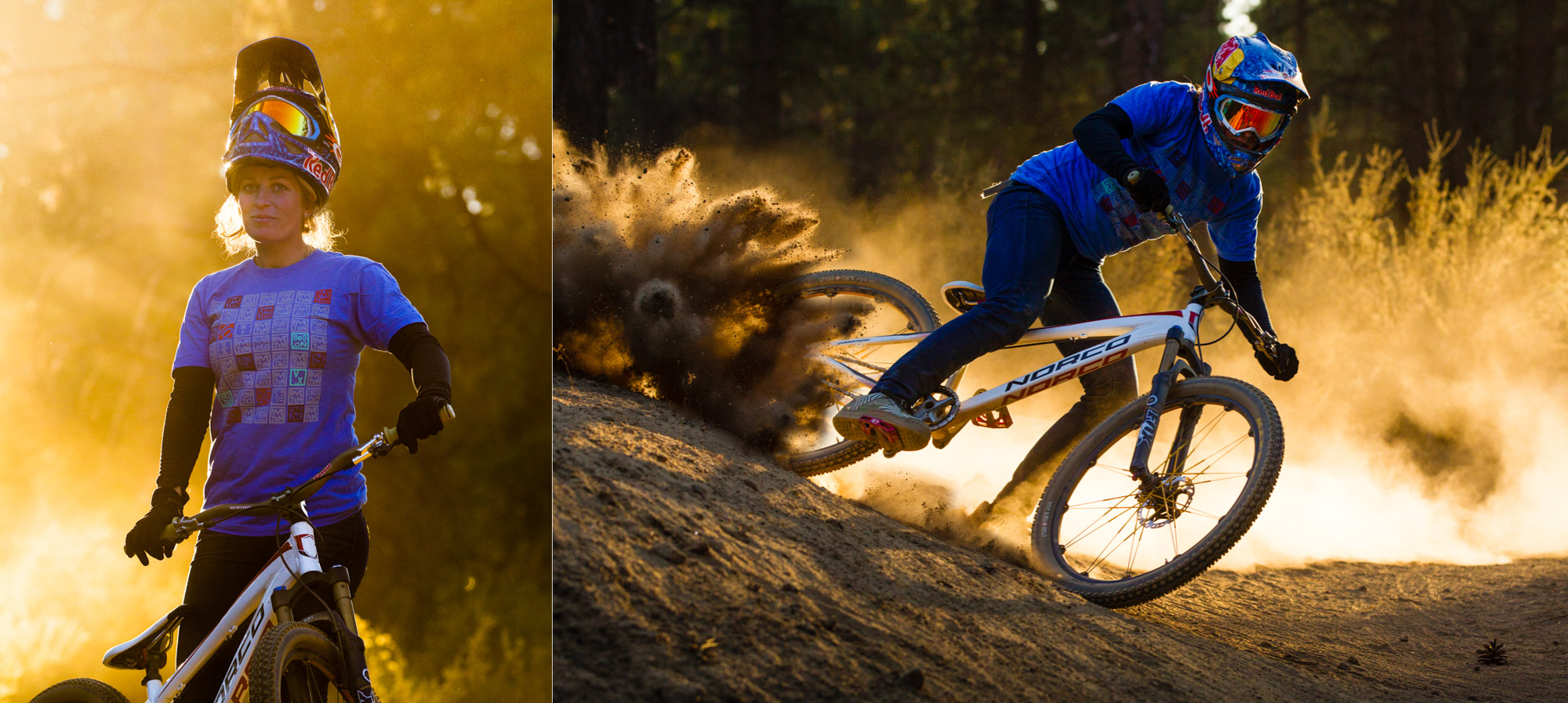 Professional Mountain Biker Jill Kinter in Bend Oregon
