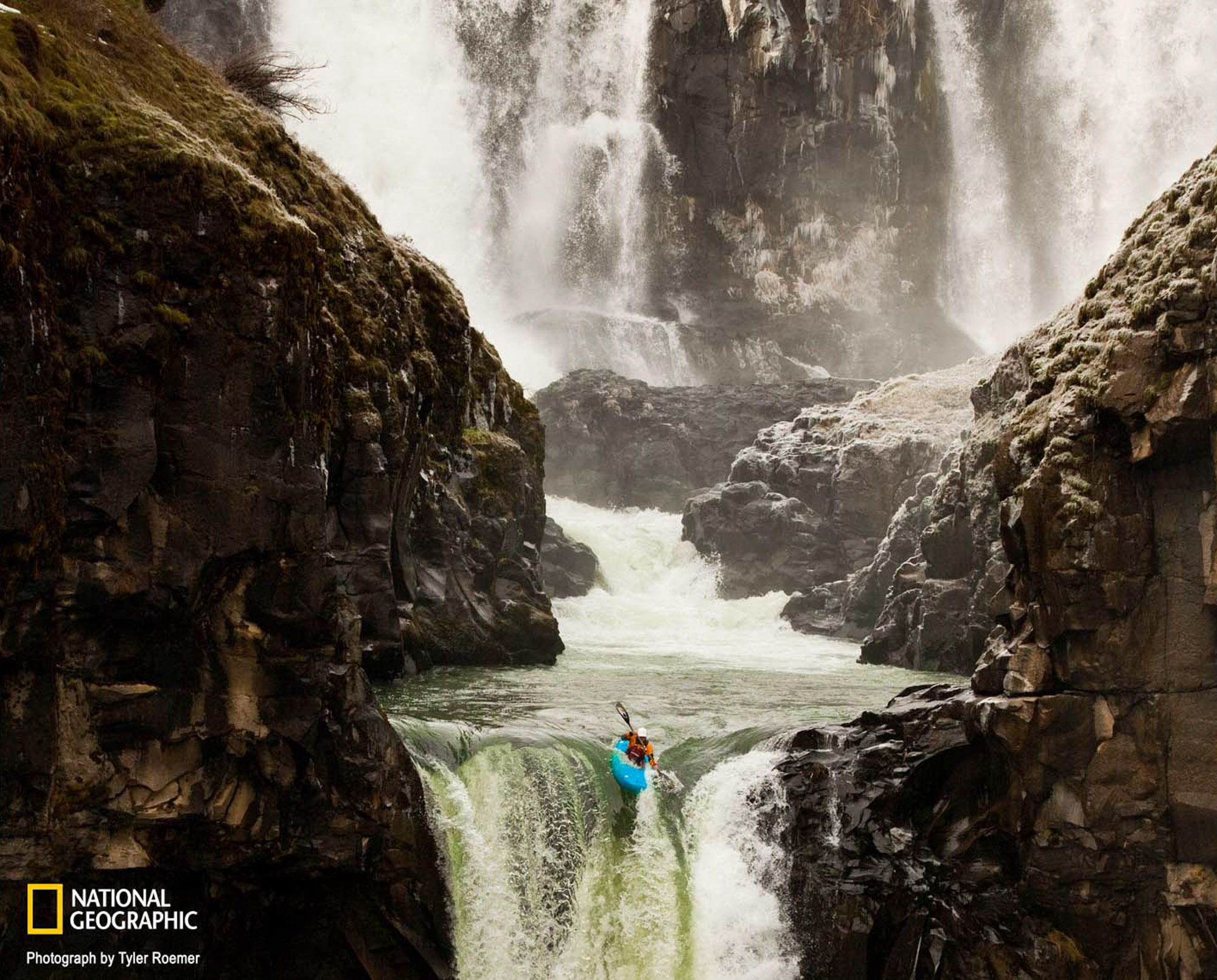 National Geographic Magazine | Whitewater Kayaking