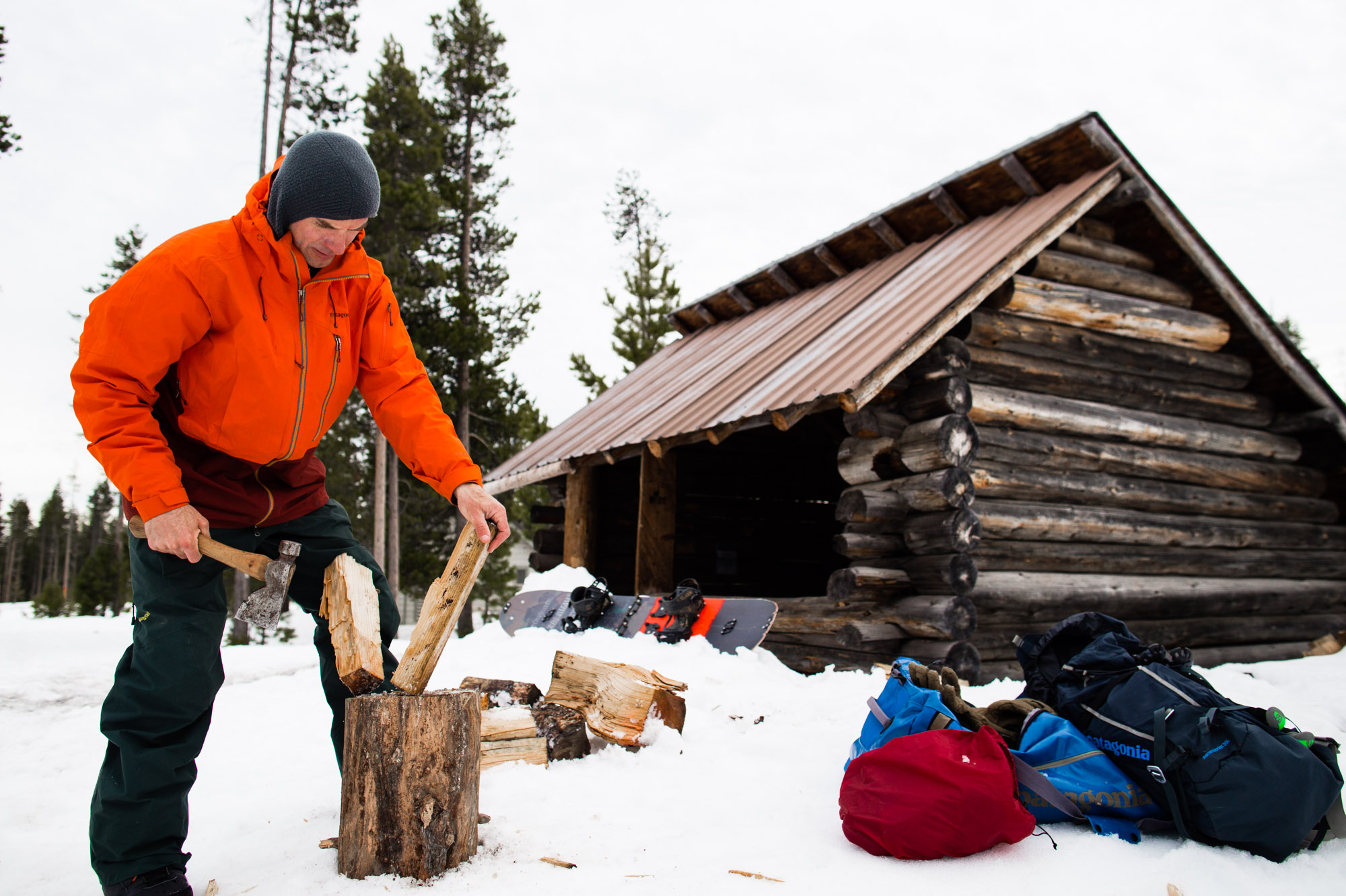 Winter Cabin Life | West Coast Outdoor Photography