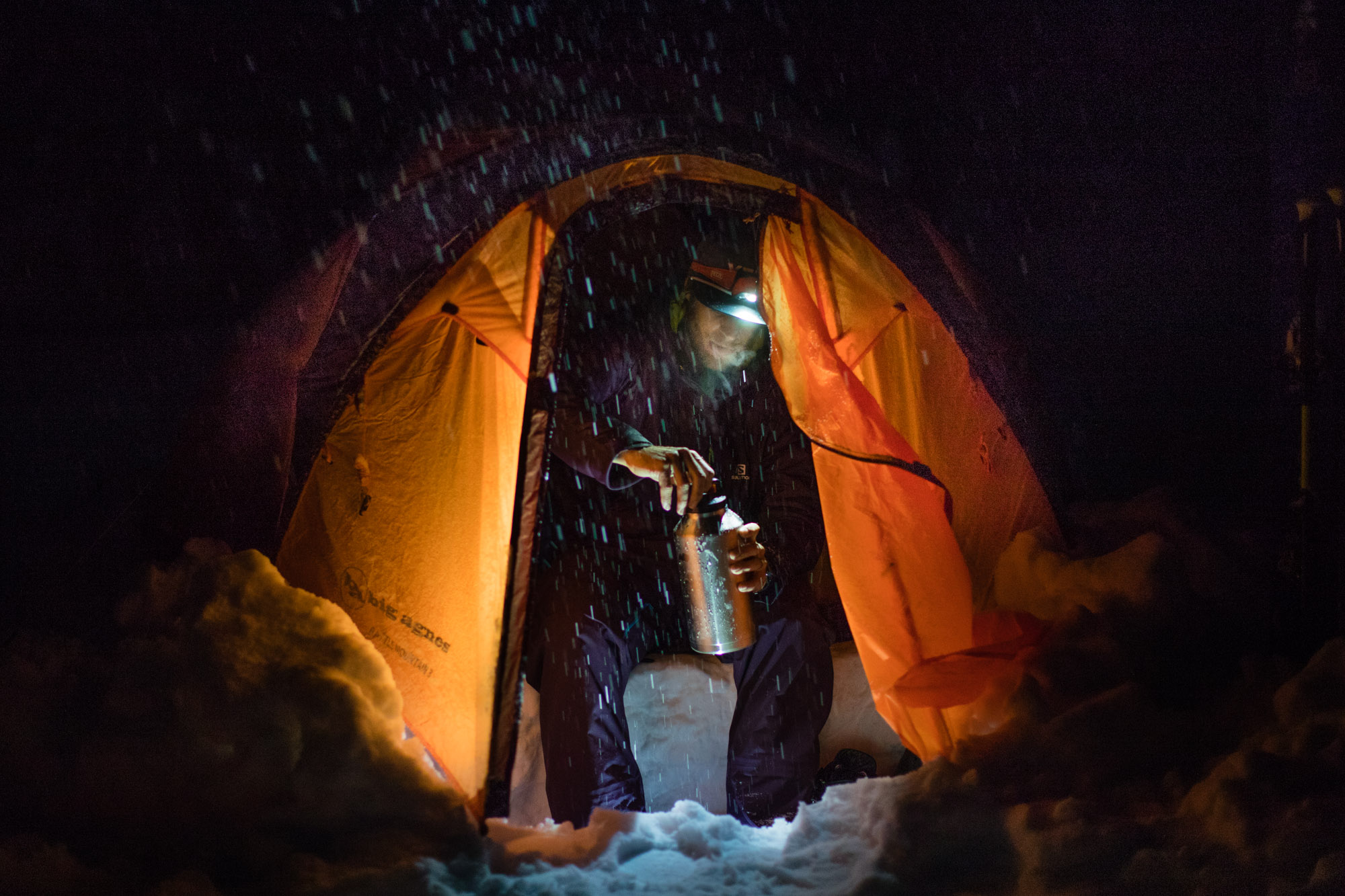 Skier Cody Townsend | Winter Camp Lifestyle Photos