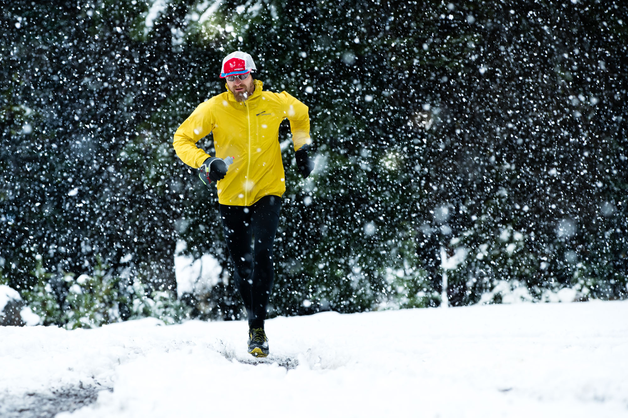 Trail Running Jeff Browning | Outdoor Winter Running Photography