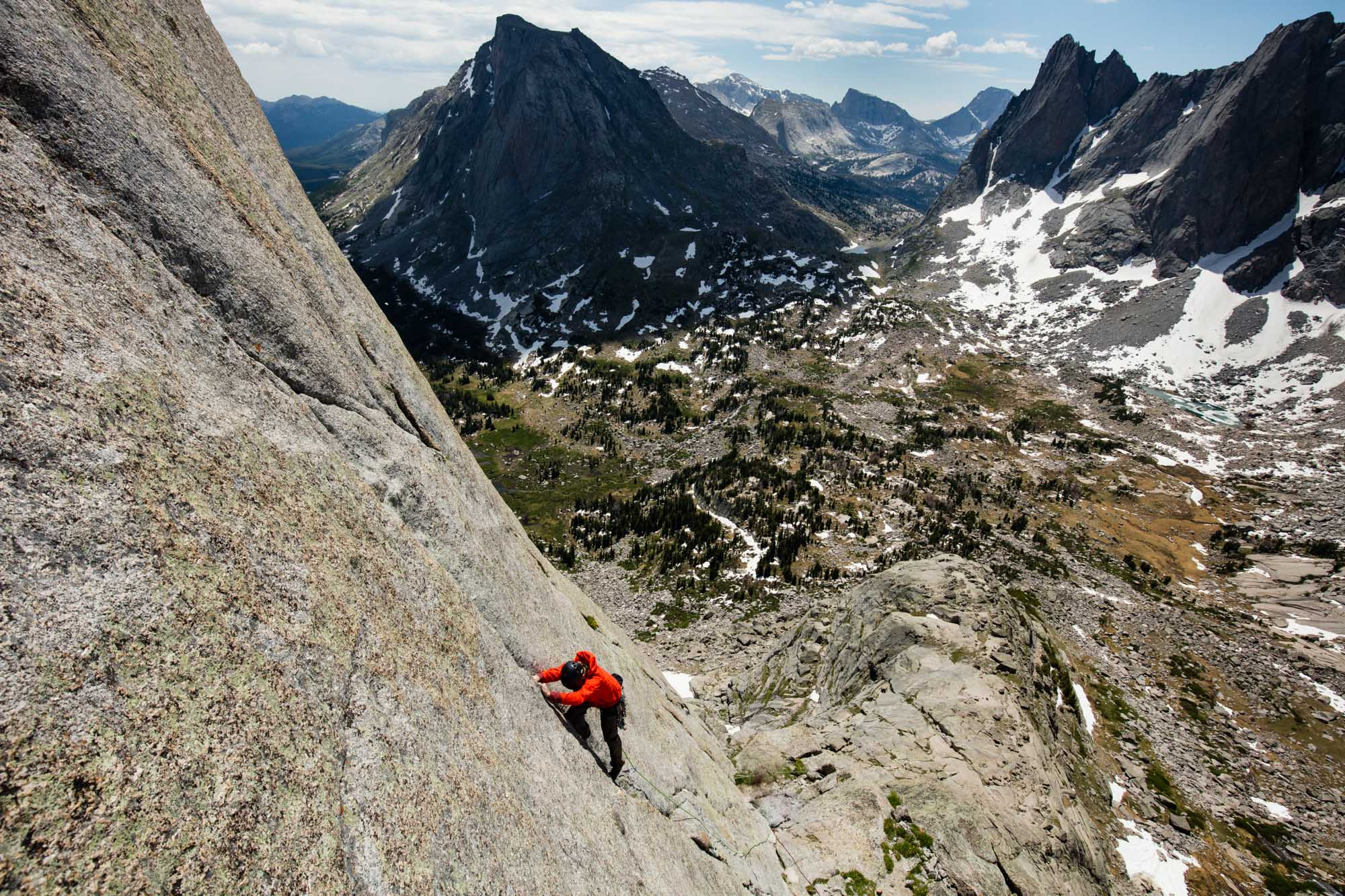 Wind River Range, Wyoming Rock Climbing | Action Sports Photography