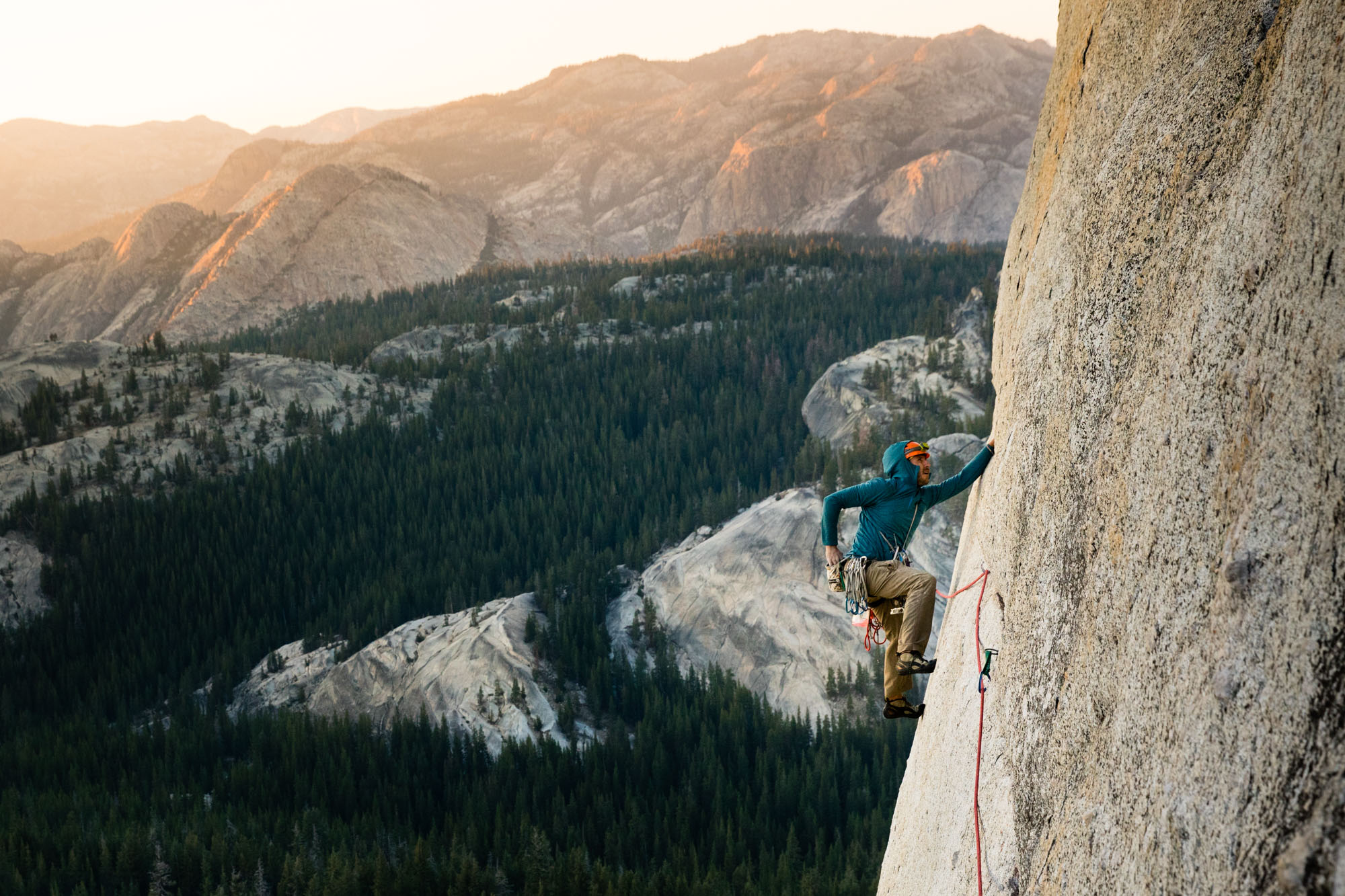Rock Climbing in Tuolumne Meadows Yosemite National Park | Action Sports Photographer